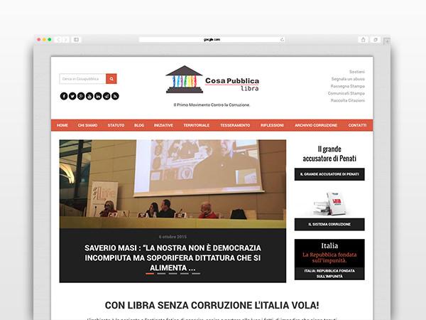 cosapubblica-website