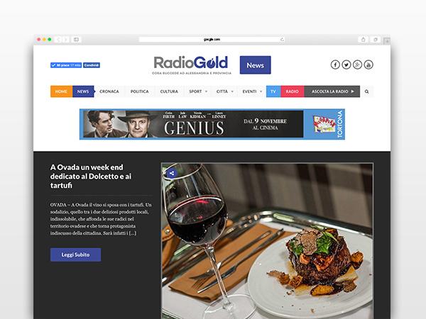 radiogold-website